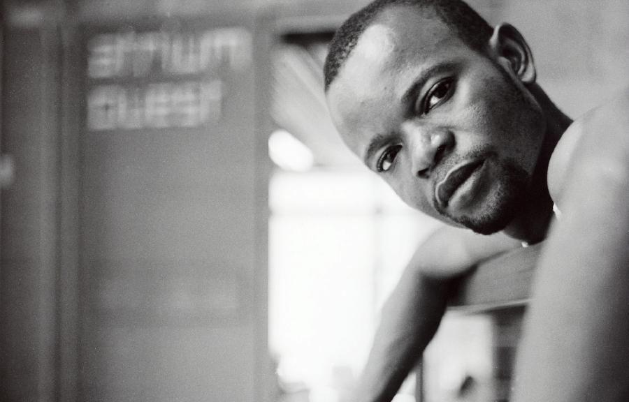 Papy Ebotani of Les Studios Kabako. Photo by Agathe Poupeney.